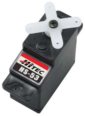 Hitec Servos Only : 31053S HS-53 Budget Feather Servo