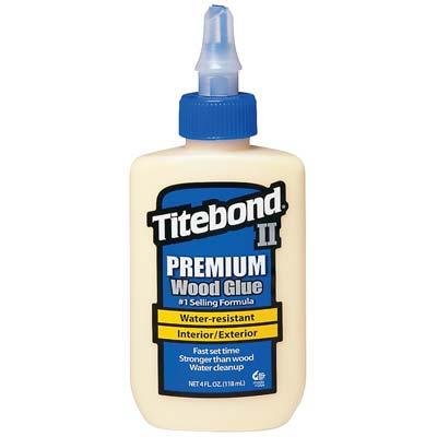 Adhesives 002 Titebond Waterproof Glue 4 Oz
